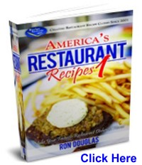 Restaurant Recipes Book