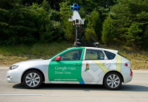 google street view car. Black Bedroom Furniture Sets. Home Design Ideas