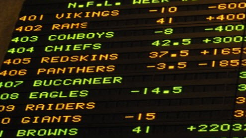 odds on nfl games today halftime lines