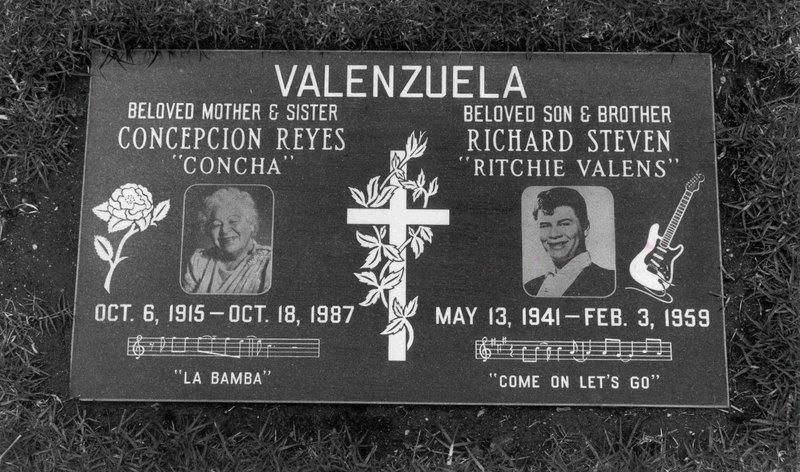 Ritchie Valens Casket Ritchie Valens Casket Ritchie
