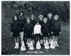 The Cubs - 1962 Cheerleaders